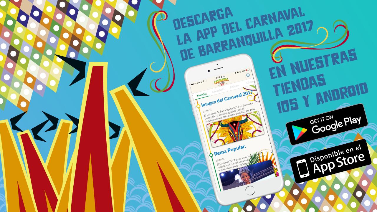 La app del Carnaval 2017, con emisora virtual pa'l bailador
