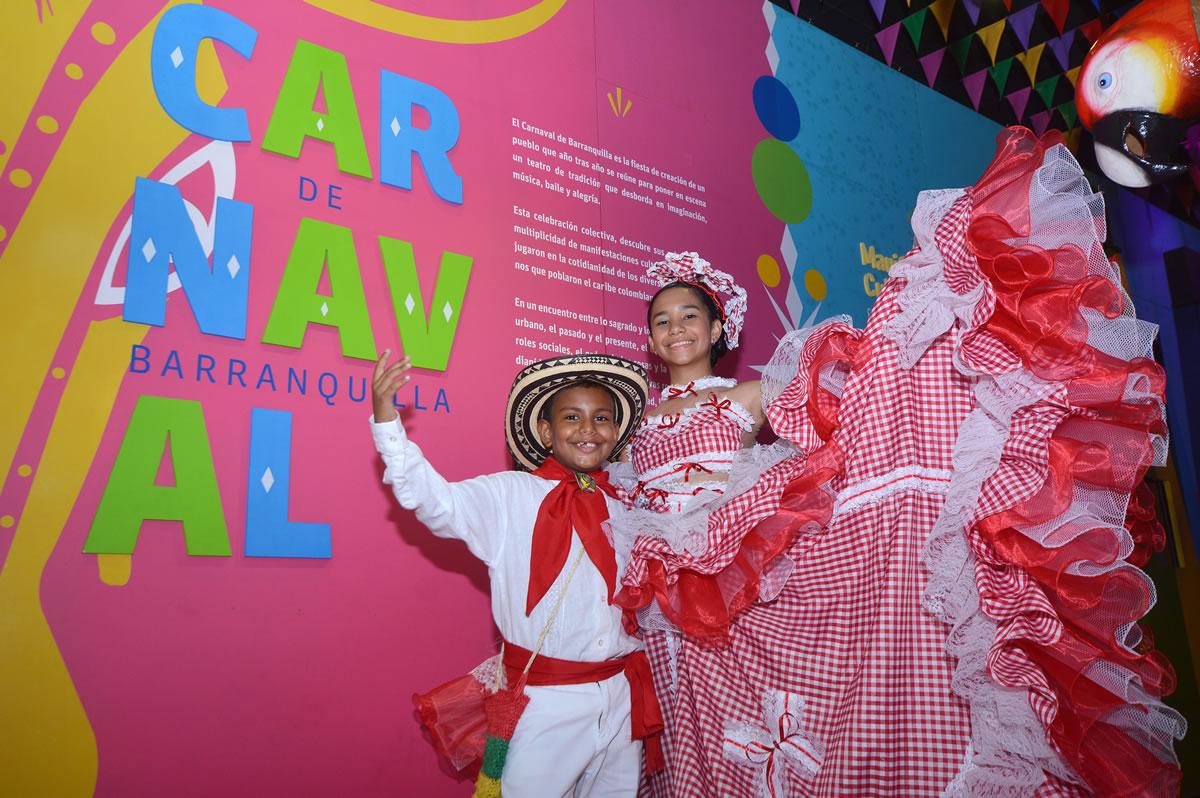 Designados los reyes del Carnaval de los Niños 2017; Alejandra Santiago y Gabriel Primera, llevarán el Carnaval a los parques