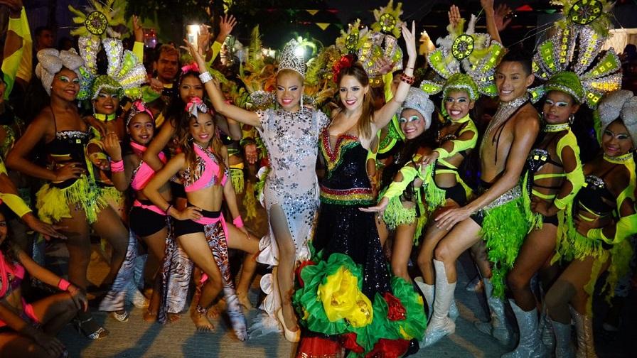 Al son de bullerengue, música afro y ritmos modernos finaliza coronaciones de Reinas Populares 2017