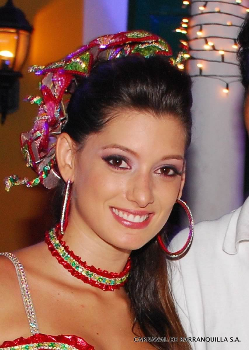 Daniela Donado - Reina del Carnaval 2007