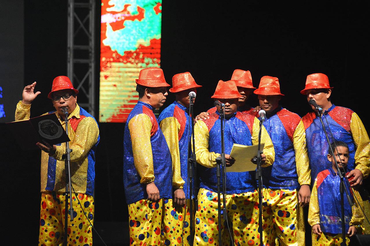 Letanías en Barrio Abajo el domingo de Carnaval