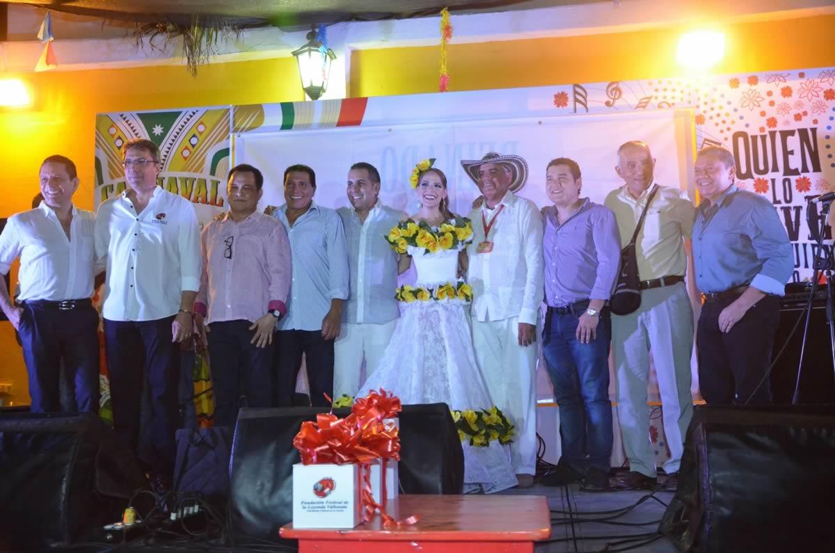 Encuentro entre Reyes Vallenatos y del Carnaval de Barranquilla para celebrar los 50 años del Festival de la Leyenda