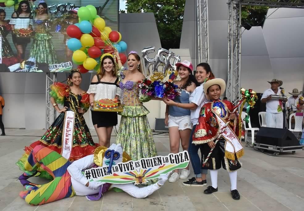 Los niños salvaguardan nuestras tradiciones con el Semillero del Carnaval