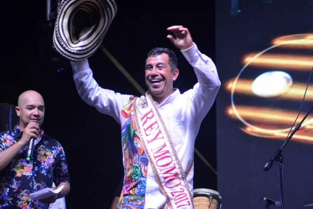 Germán Álvarez, Rey Momo 2017