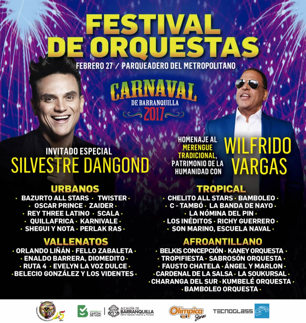 En Festival de Orquestas 32 agrupaciones y tres shows especiales