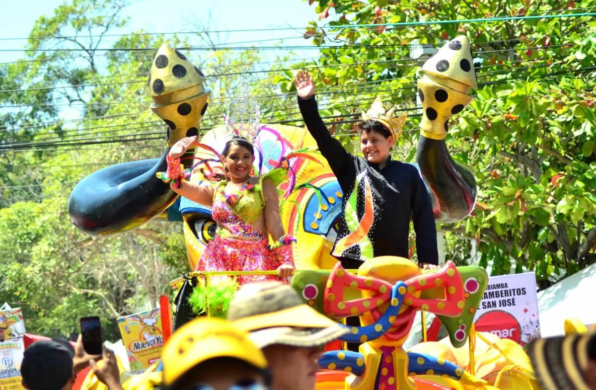 Desfile del Carnaval de los Niños 2017, donde la alegría se vive y se siente.