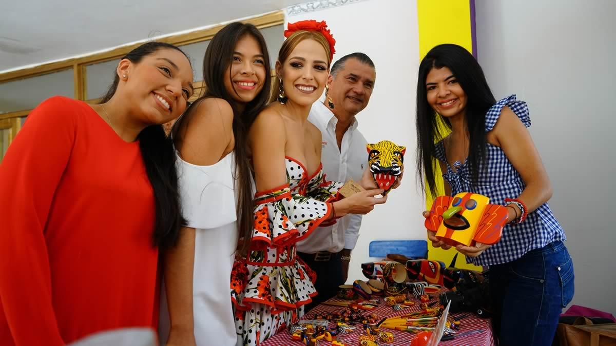 Con exposición artesanal, el Palacio Real de Stephanie Mendoza abre a los barranquilleros