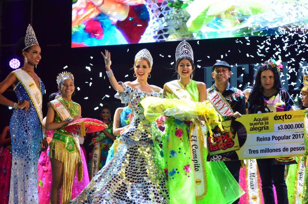Eliana Pagán, del barrio El Campito, es la Reina Popular del Carnaval 2017