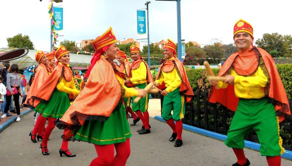 Danza de Paloteo Talento Juvenil de Sabanalarga