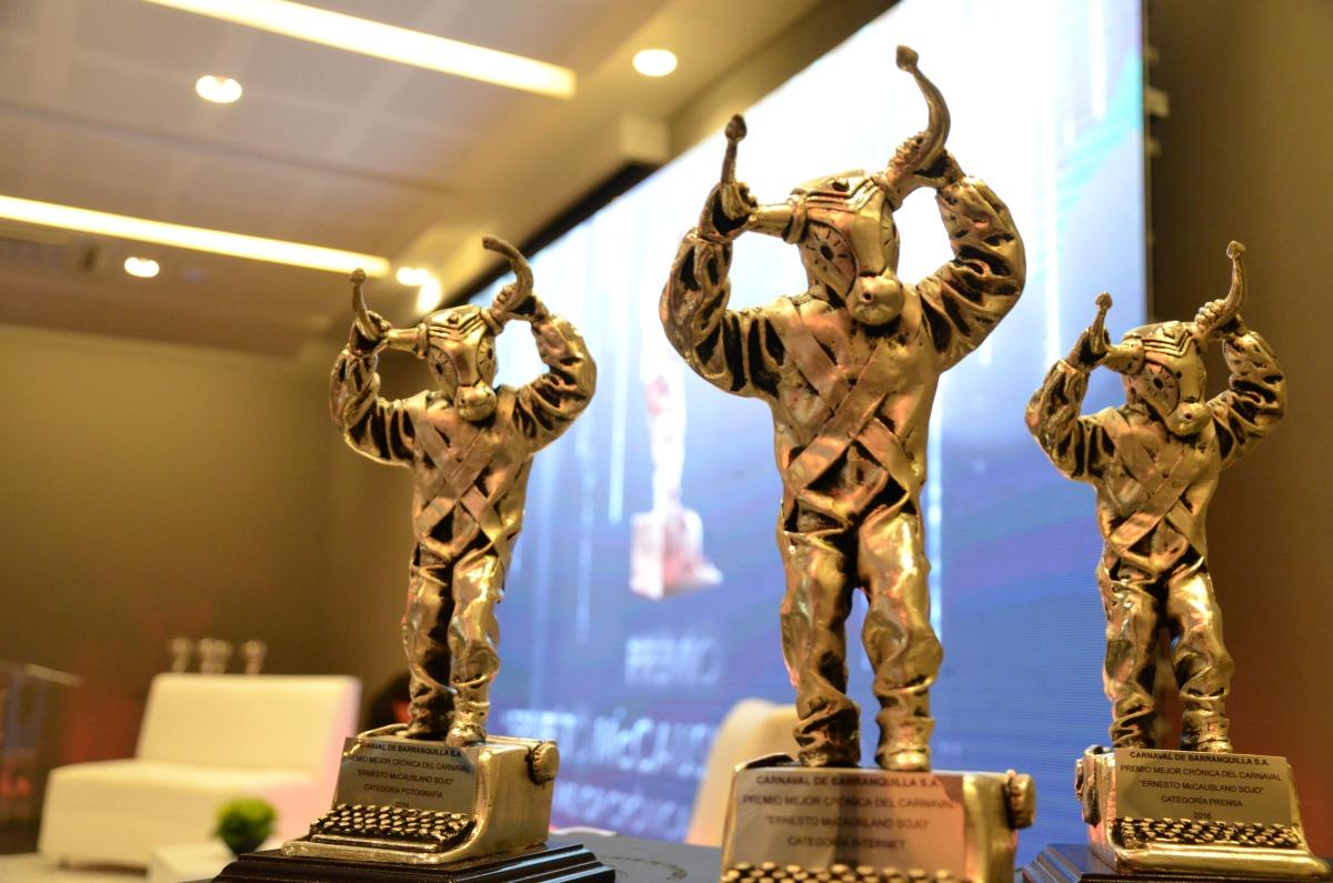 Entrega del Premio de Periodismo Promigas a las Mejores Crónicas del Carnaval 2017