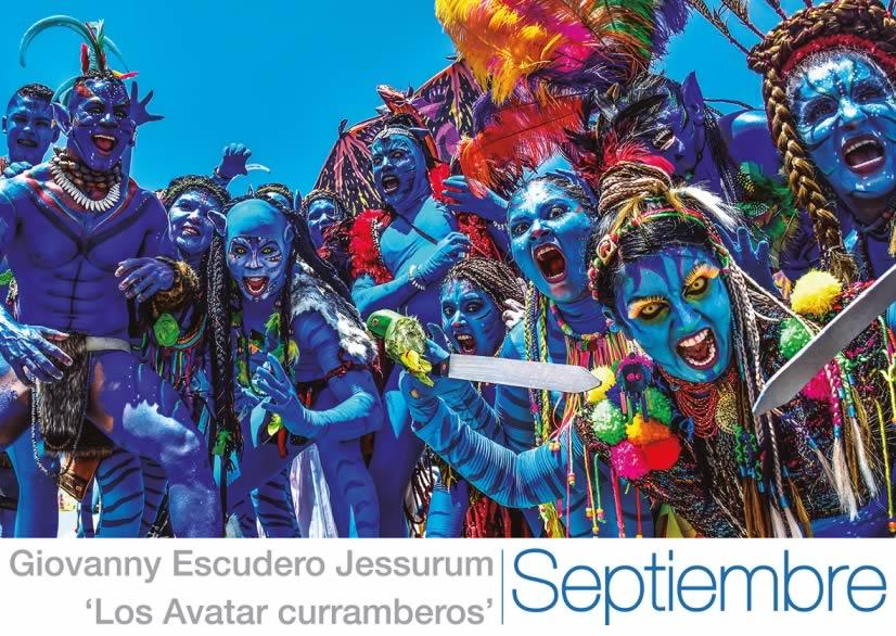 5. Septiembre, Los Avatar curramberos, Giovanny Escudero