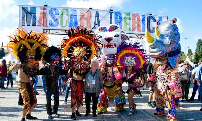 Histórica participación del Carnaval de Barranquilla en el Festival de Máscaras de Lisboa