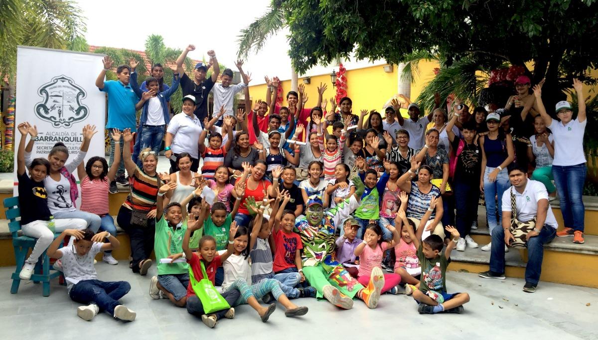 Las Vacaciones Culturales llenan de alegría la Casa del Carnaval
