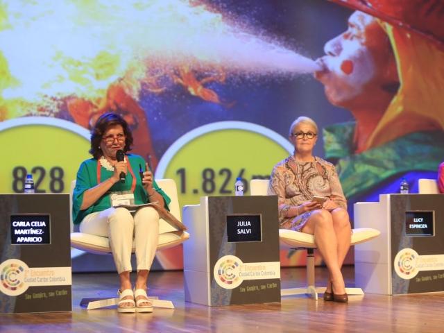 Presentación del impacto del Carnaval 2017 en el II Encuentro Ciudad Caribe.