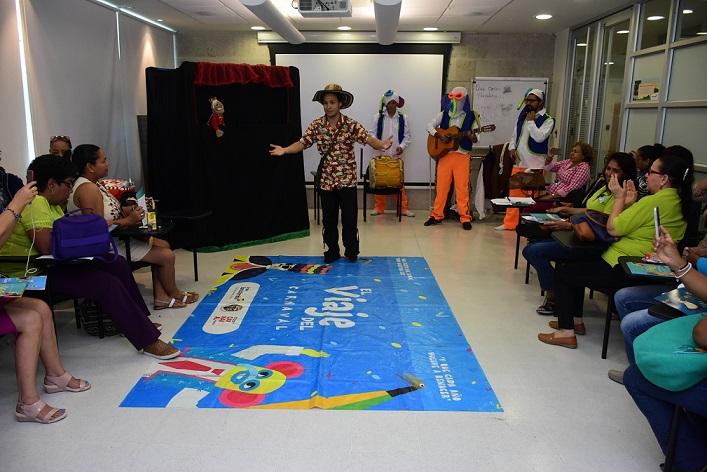 La Fundación Casa de Hierro, realizó actividades de 'El Viaje del Carnaval'.