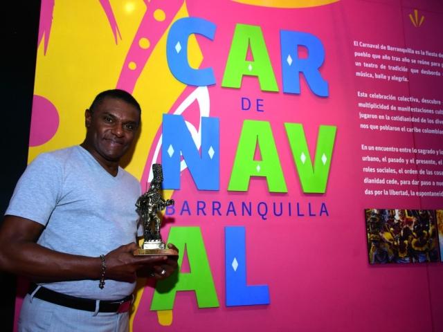 El salsero dominicano se mostró muy agradecido por recibir su Congo de Oro.