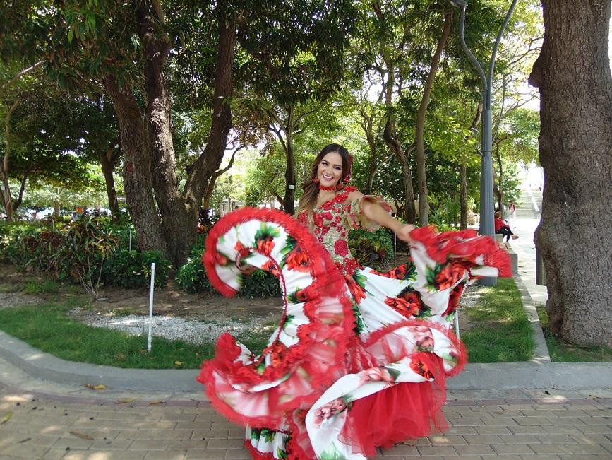 La alegría del Carnaval llega a Uruguay con Valeria Abuchaibe