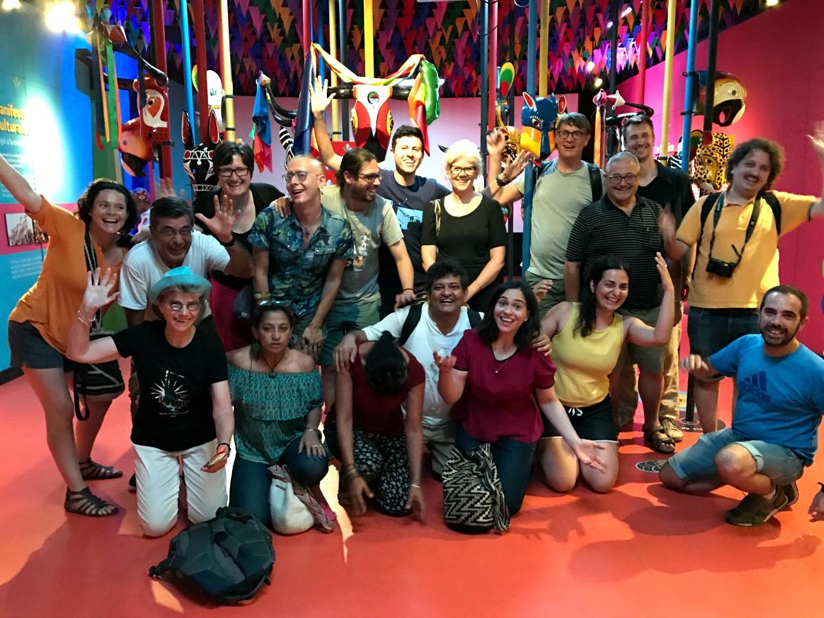 Carnaval acogió a delegados de Congreso Internacional de Comunicaciones