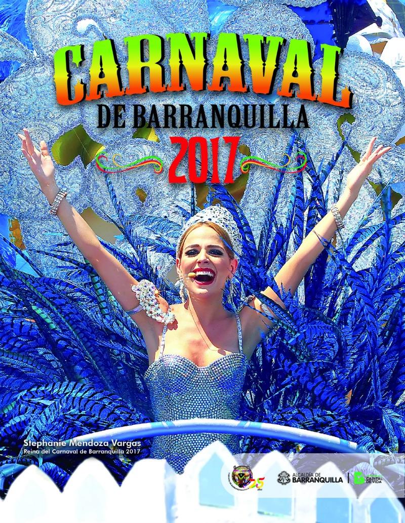Desde hoy circula la Revista del Carnaval de Barranquilla 2017