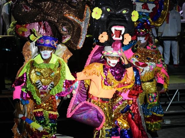 La Danza Congo Reformado también se presentó en todo su esplendor durante la muestra folclórica ofrecida en el Congreso de Anato.