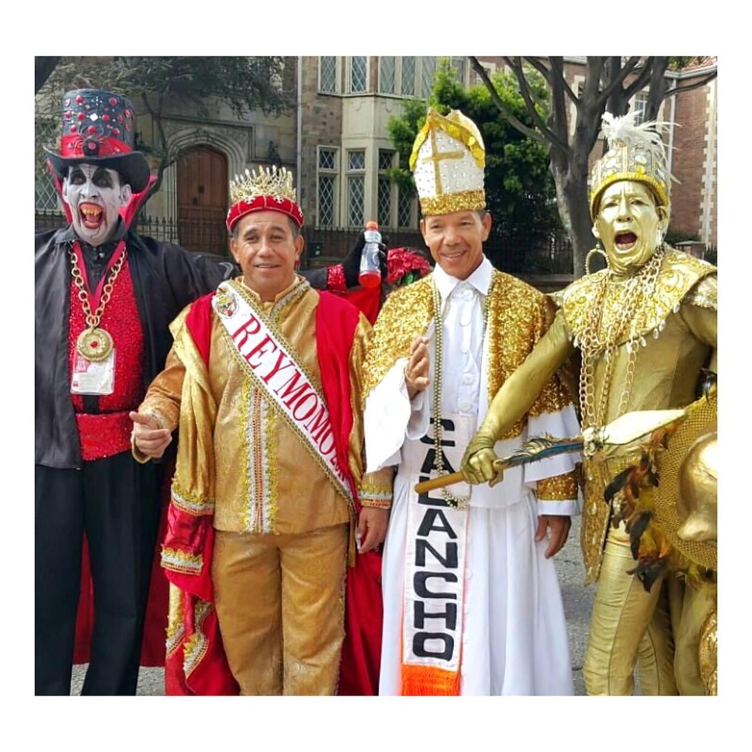 Carnaval de Barranquilla presente en Caminata de la Solidaridad por Colombia