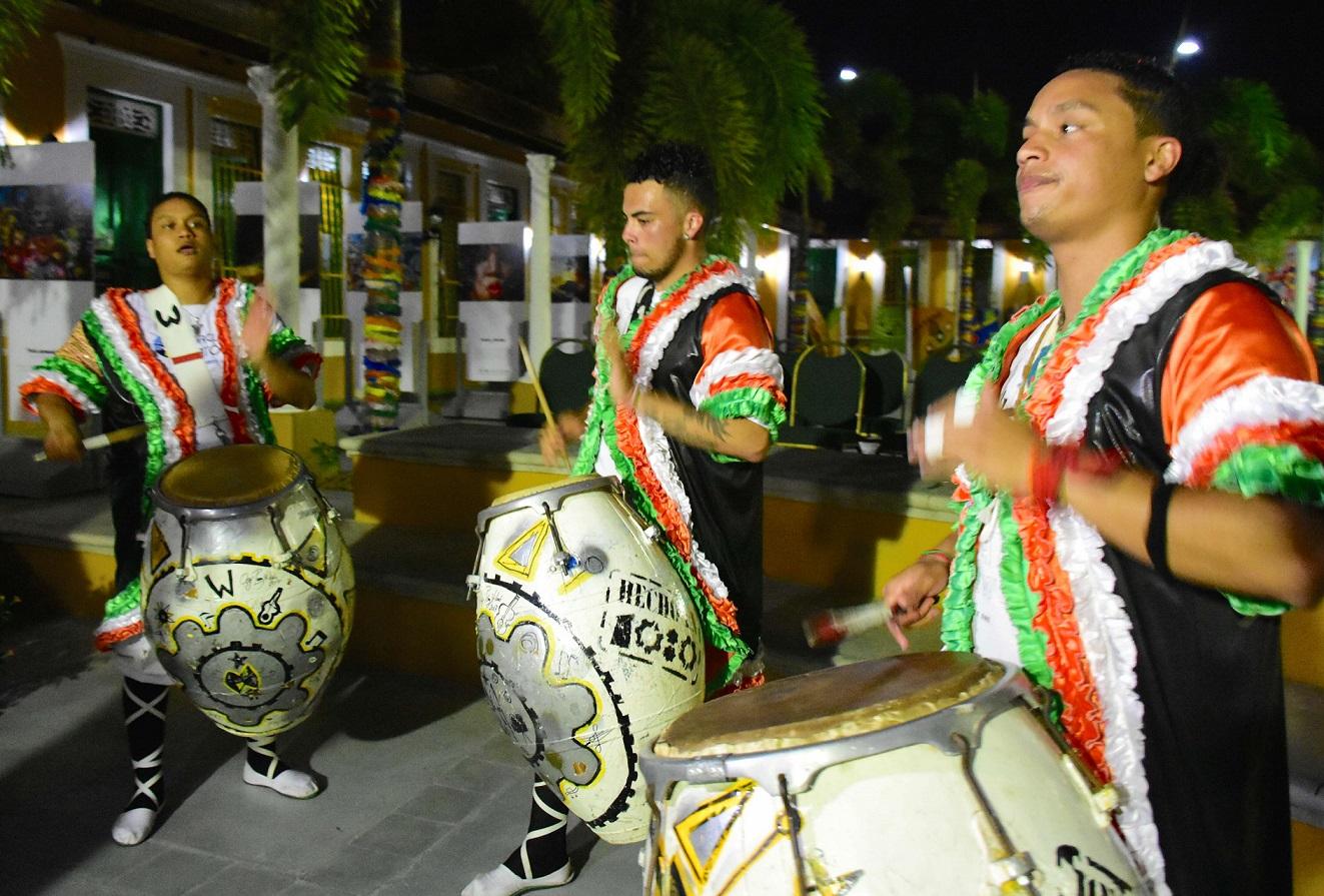 El Candombe se tomó la Casa del Carnaval en Barranquilla