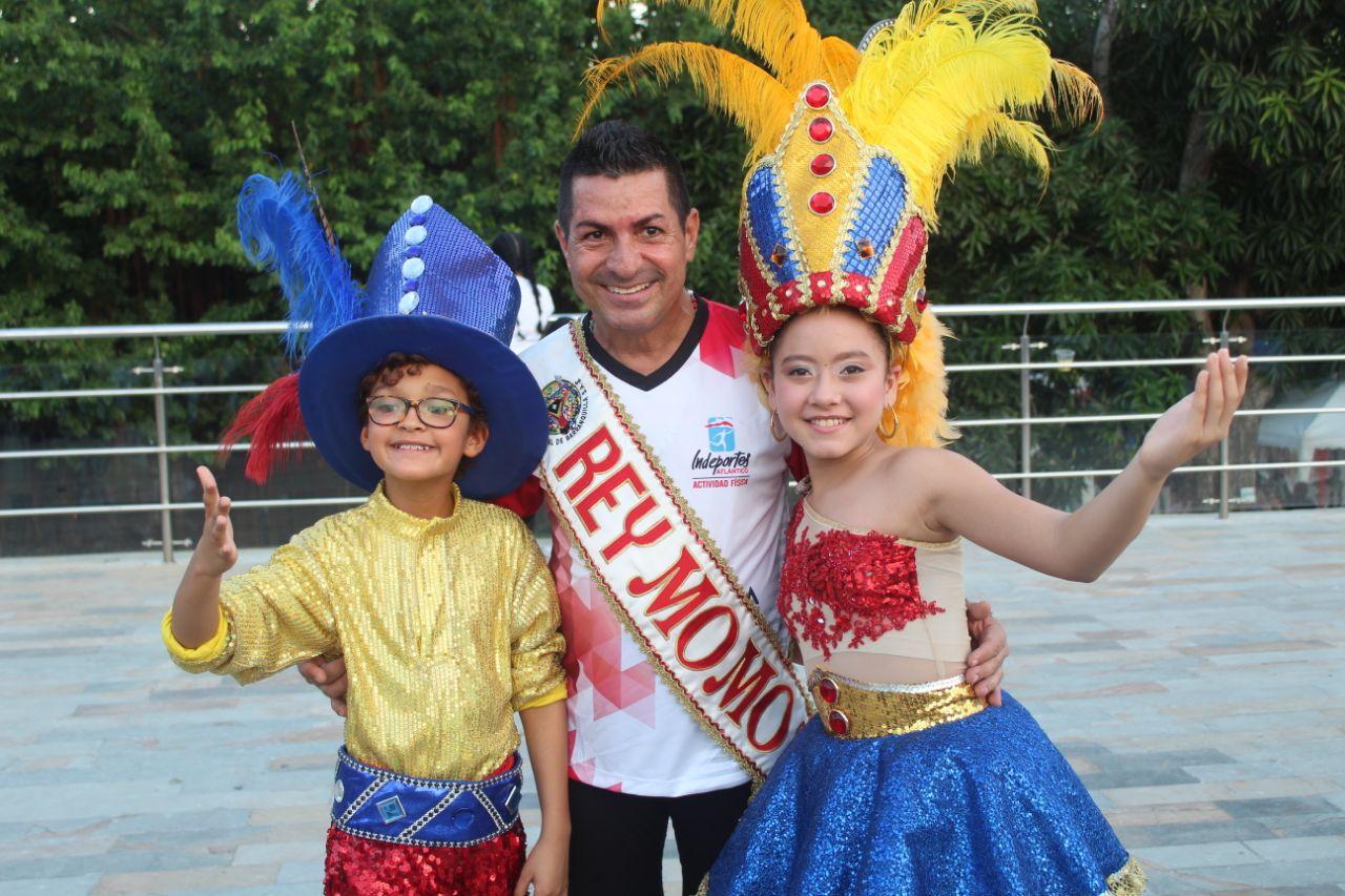 Reyes del Carnaval impulsan el deporte en el Atlántico