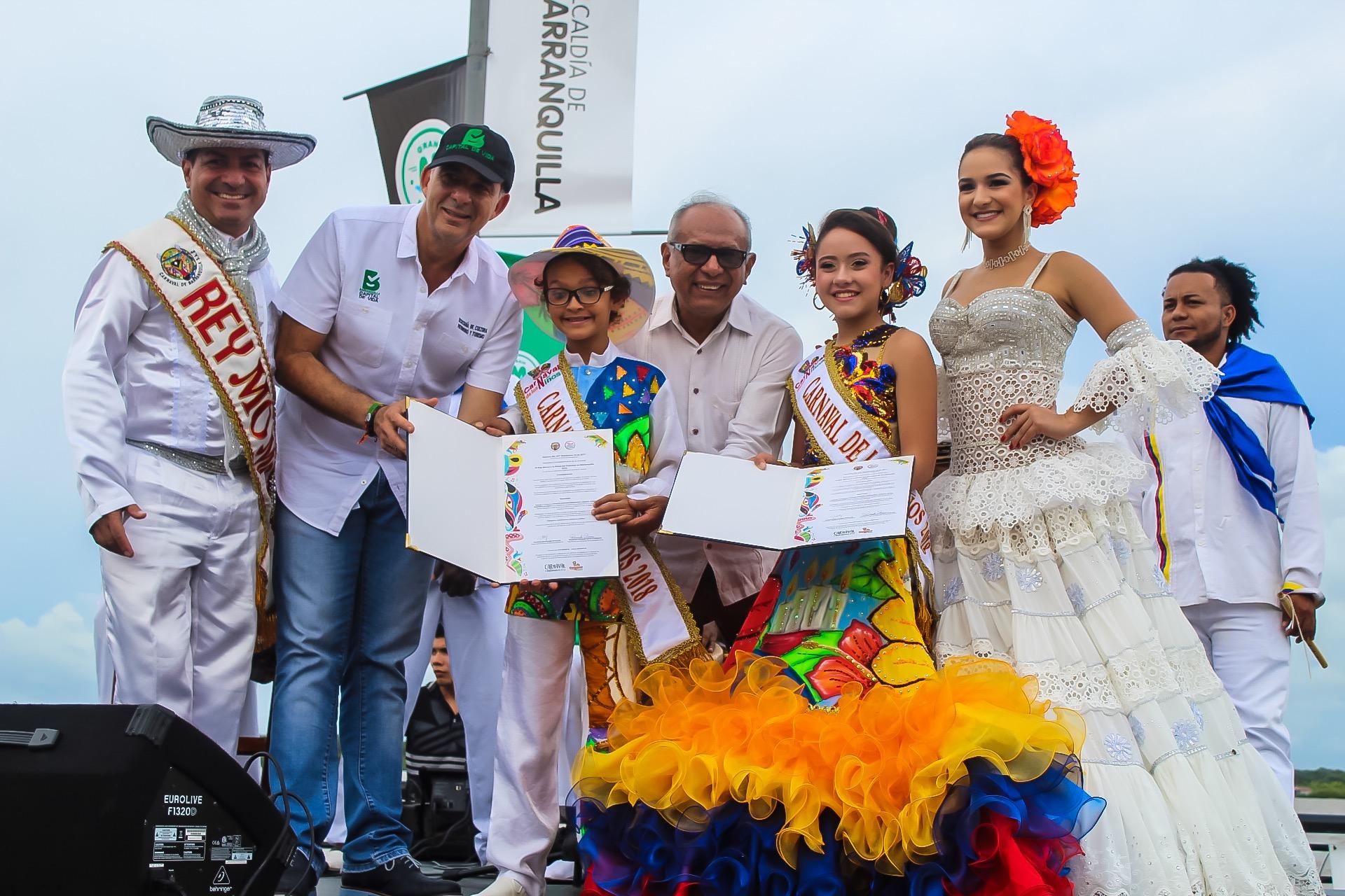 Sammy y Shadya ya tienen su decreto para presidir el Carnaval de los Niños 2018