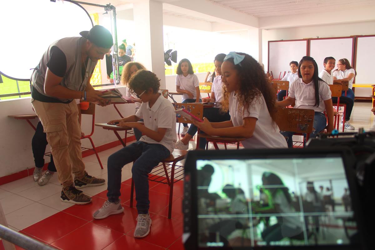 Shadya y Sammy graban video de  'El Vacile', un homenaje a Barranquilla