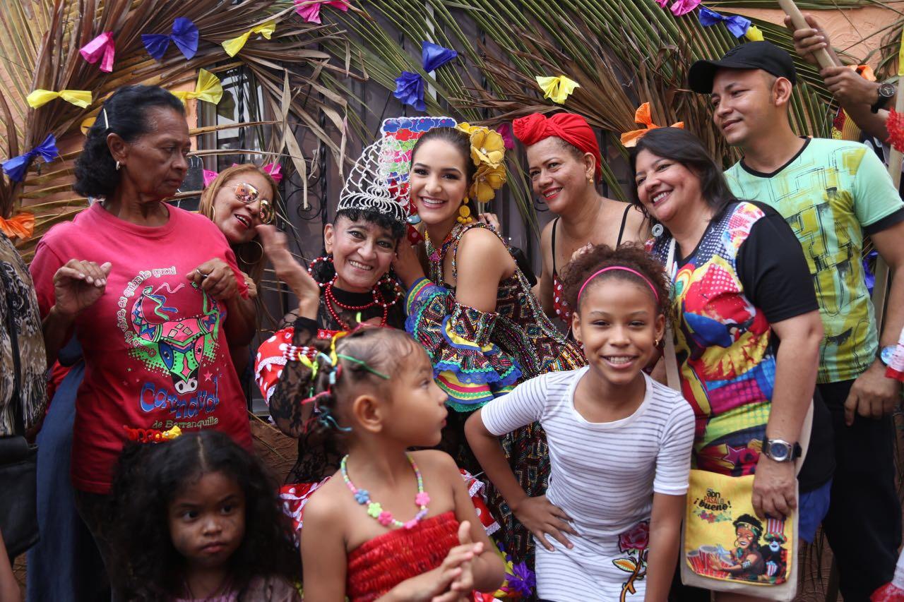 Valeria Abuchaibe continúa homenajeando a las mujeres símbolos del Carnaval de Barranquilla