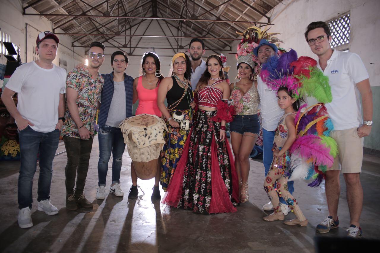 La Reina Valeria presenta el vídeo oficial de #100teteMásBarranquillero