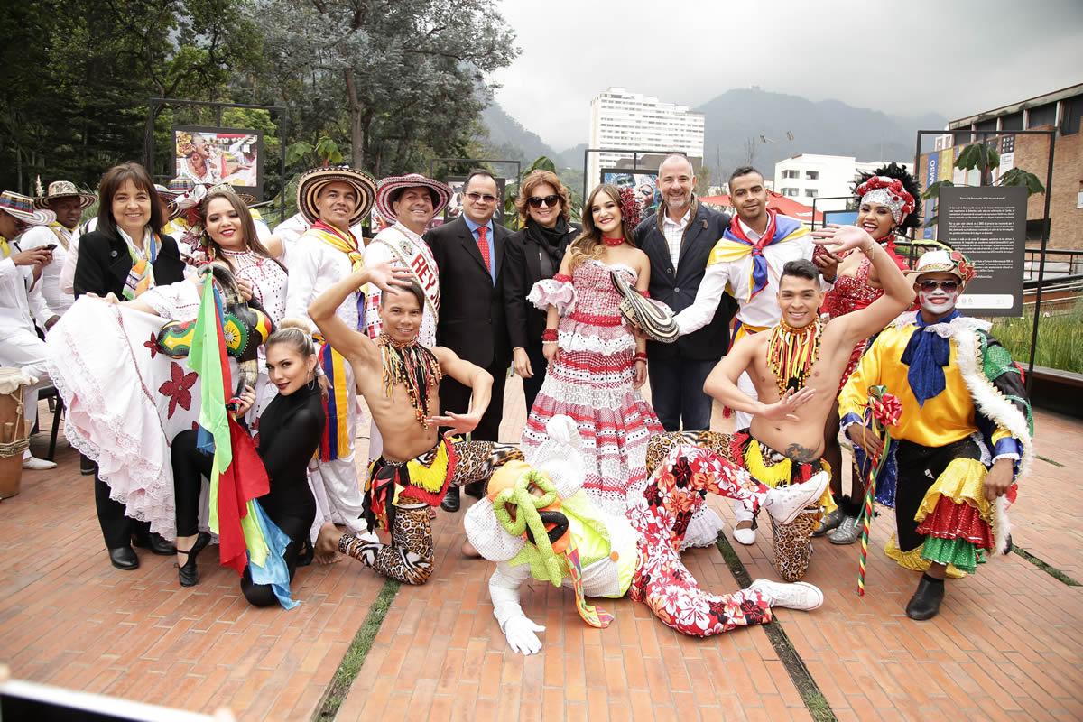 Bogotá recibió la alegría del Carnaval de Barranquilla