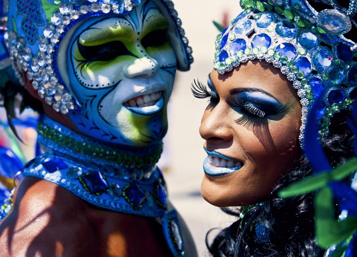 Taller de maquillaje de Carnaval para grupos y disfraces