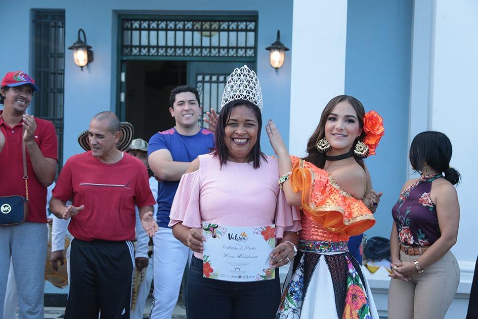 Lina Babilonia, directora del grupo Las Flores de Barranquilla
