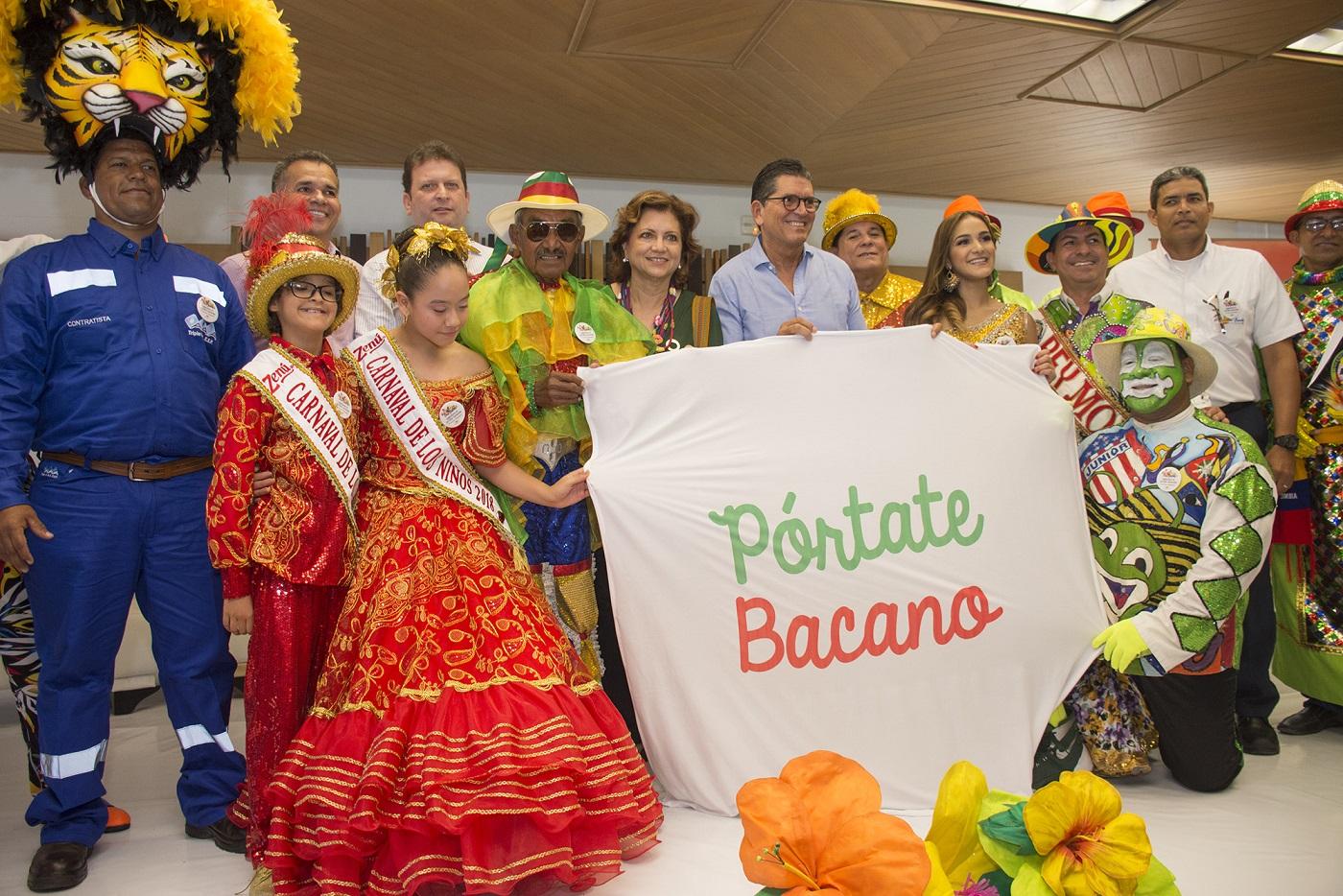 La Cultura Ciudadana tiene embajadores en el Carnaval de Barranquilla 2018
