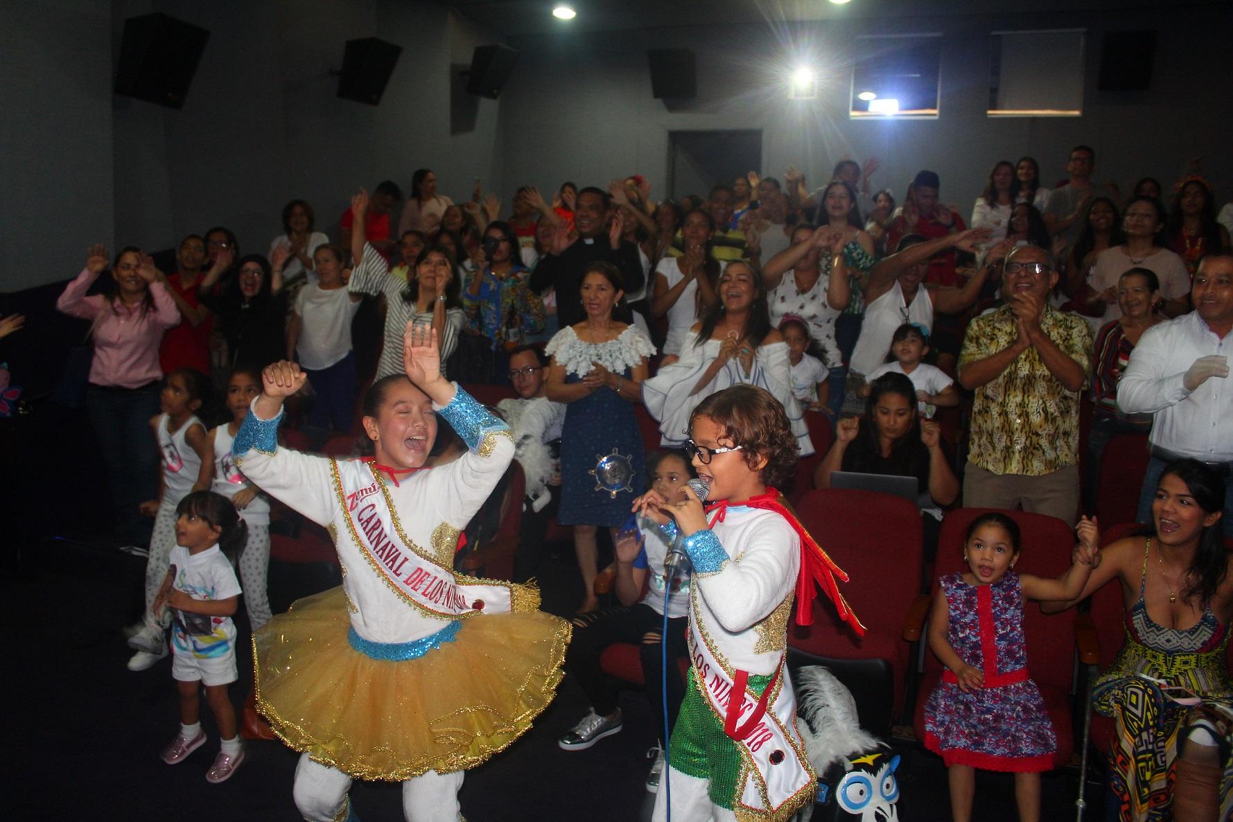 Reyes del Carnaval de los Niños presentaron el video de 'El Vacile'