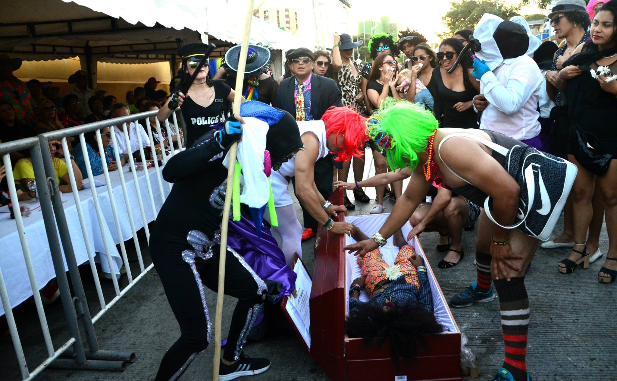 Joselito se va con las cenizas del Carnaval 2018