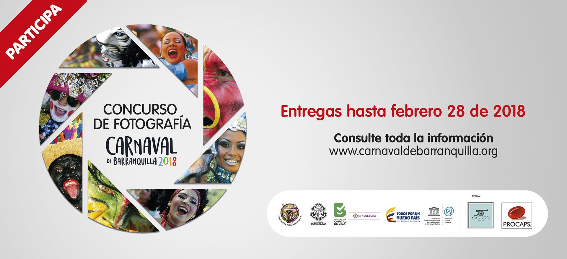 Concurso fotografías del Carnaval de Barranquilla 2018
