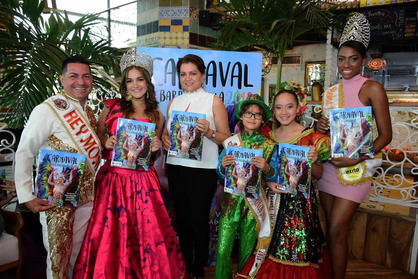Así fue la presentación de la Revista Carnaval 2018