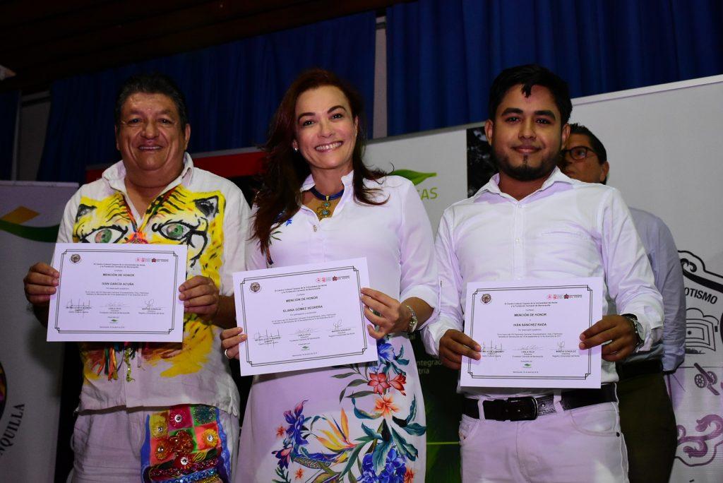 Iván García, Eliana Gómez e Iván Sánchez.