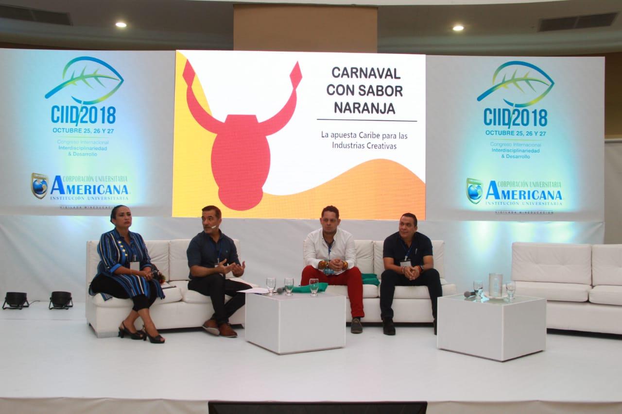 Carnaval con Sabor a Naranja en Congreso Internacional de Desarrollo