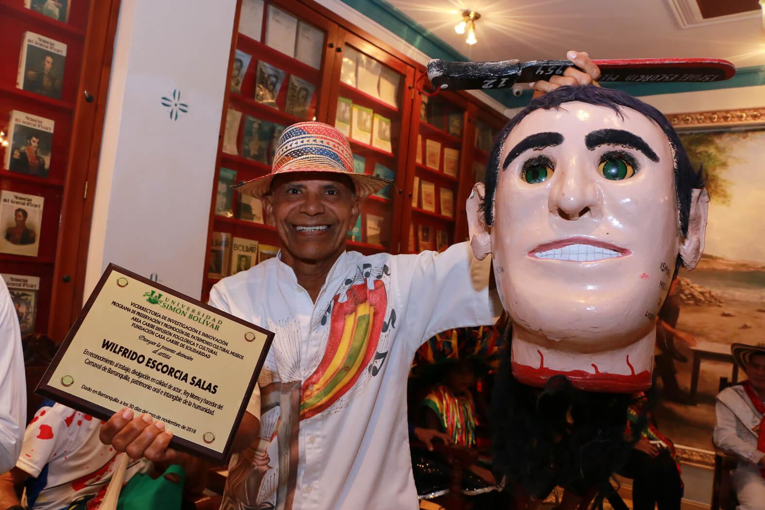 'El Descabezado', 65 años de tradición en el Carnaval de Barranquilla