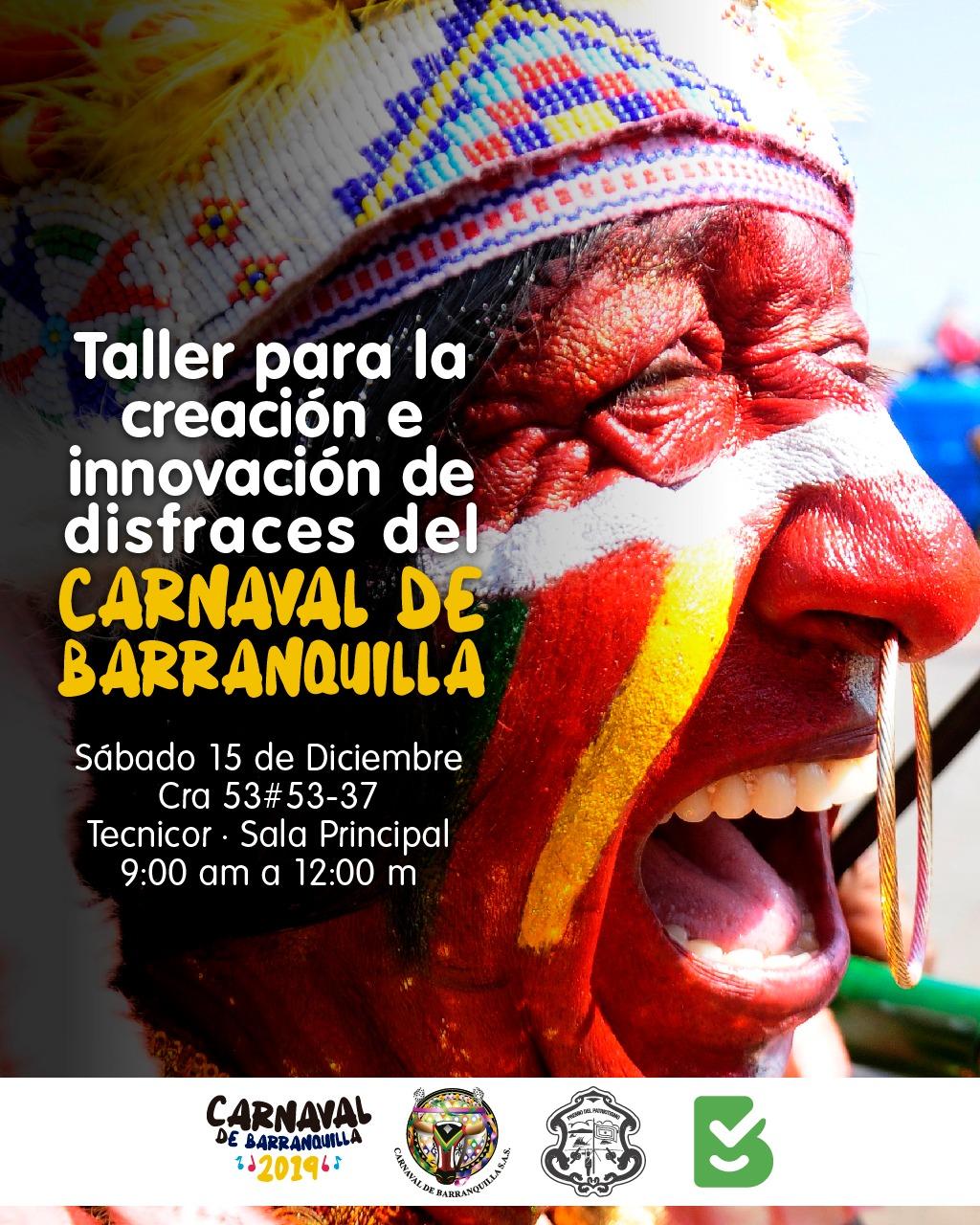 Carnaval de Barranquilla dicta taller de disfraces para hacedores de la fiesta
