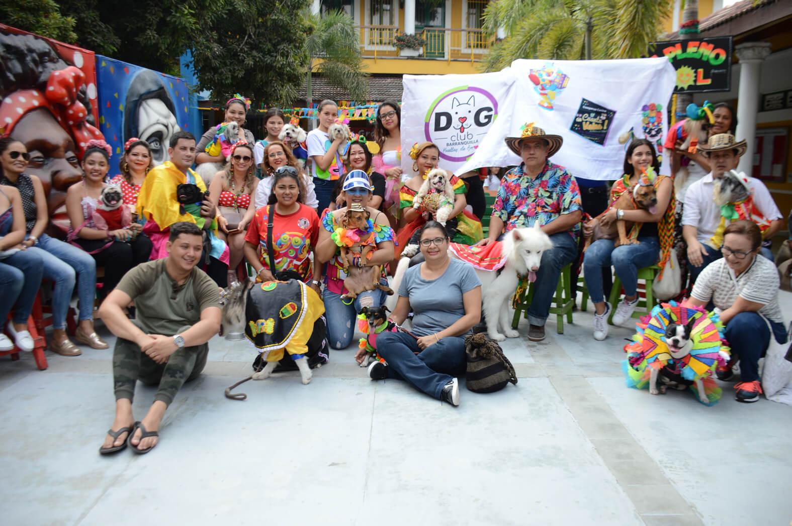 Las mascotas tienen un espacio en el Carnaval de Barranquilla