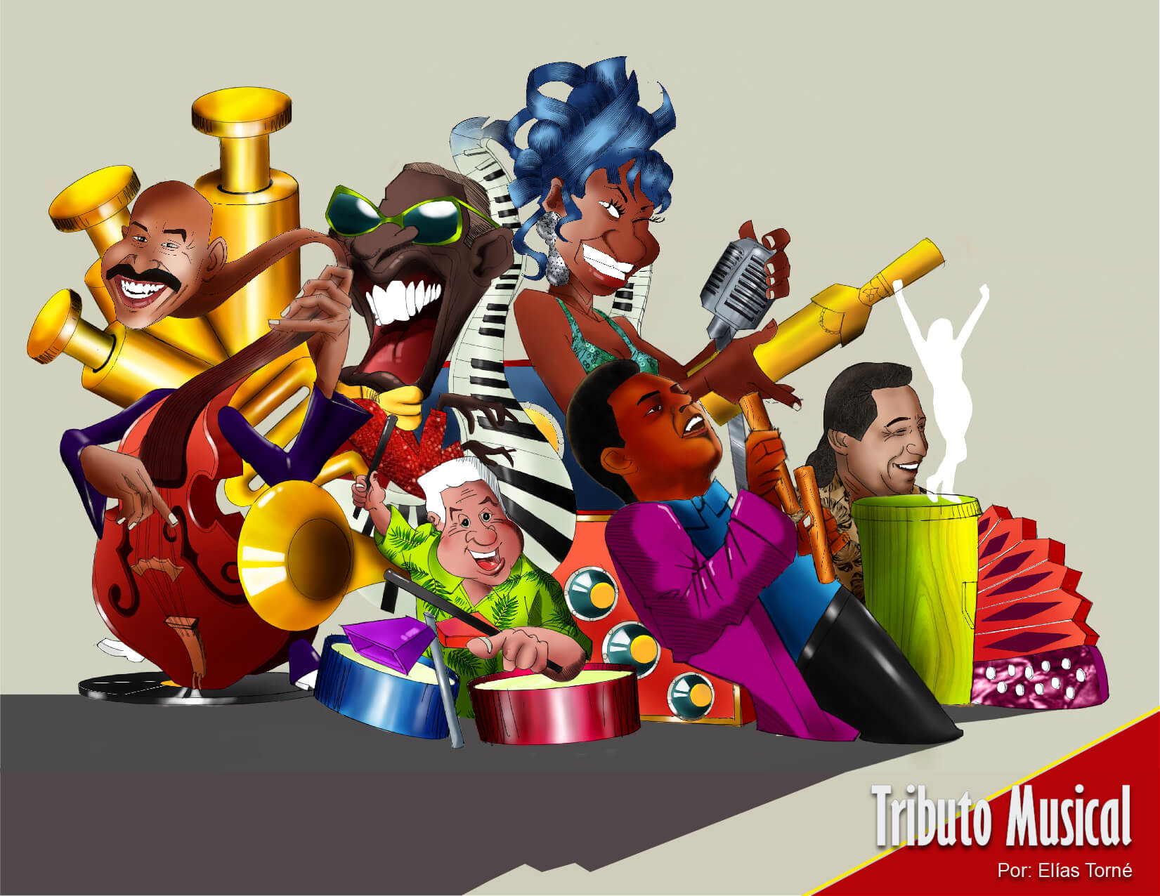La música y las tradiciones inspiración de las carrozas que rodarán en vía 40