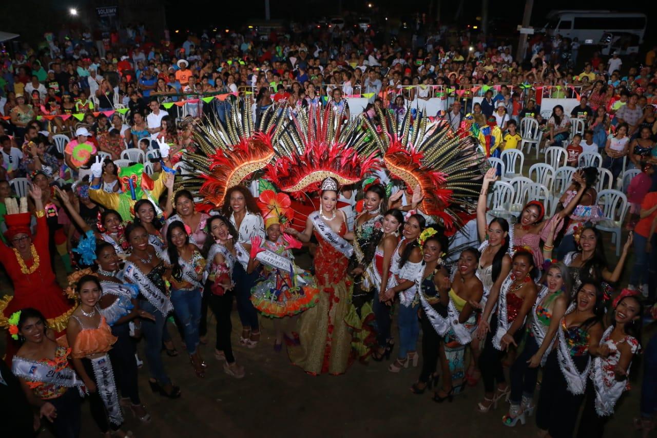 Al son de mapalé, bullerengue, cumbia y ritmos afro finaliza coronaciones de Reinas Populares