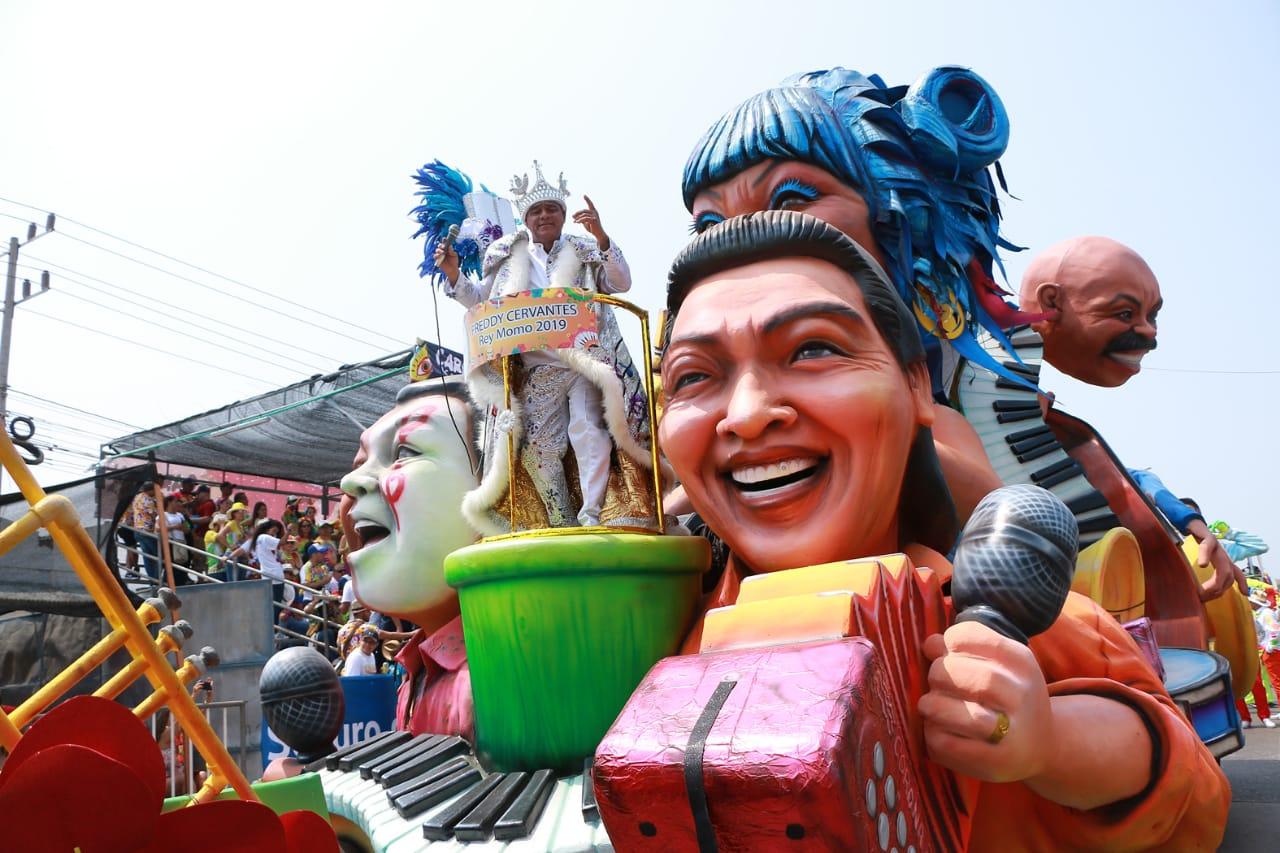 Carrozas 2019, una inspiración en la música y las tradiciones del Carnaval