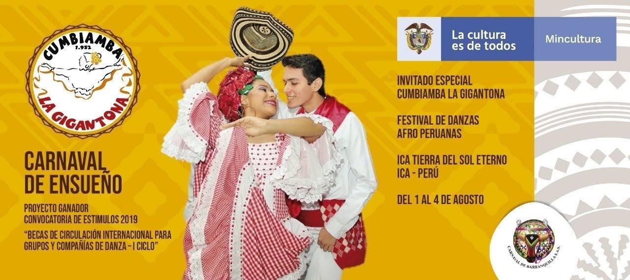 Carnaval de Barranquilla en Festival de Danzas en Perú