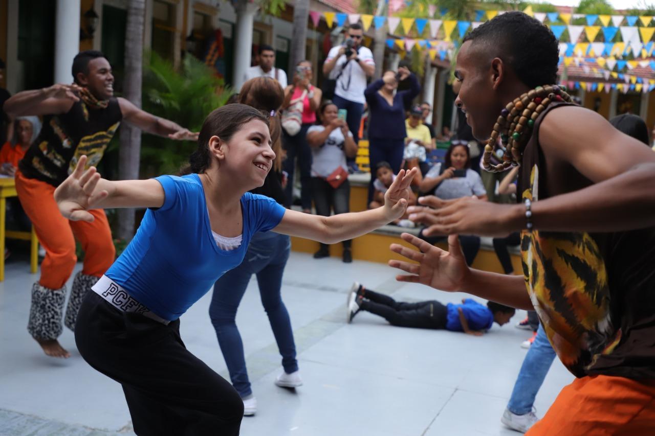 Baila al Son del Patrimonio con la Danza de Tradición Mapalé
