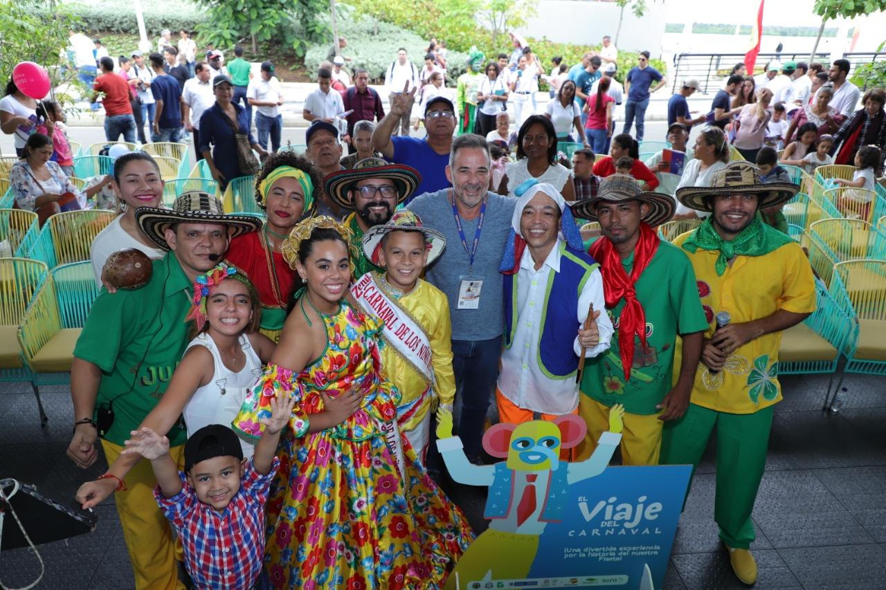 El Viaje del Carnaval llegó a Libraq 2019